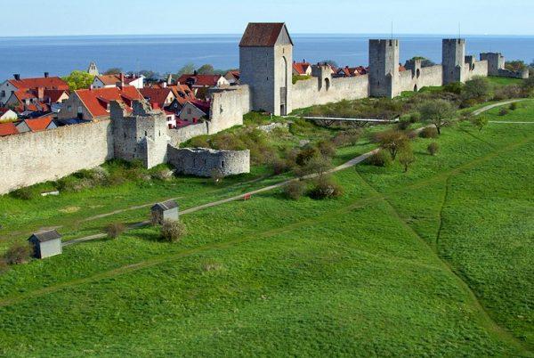 Gotland Visby walls